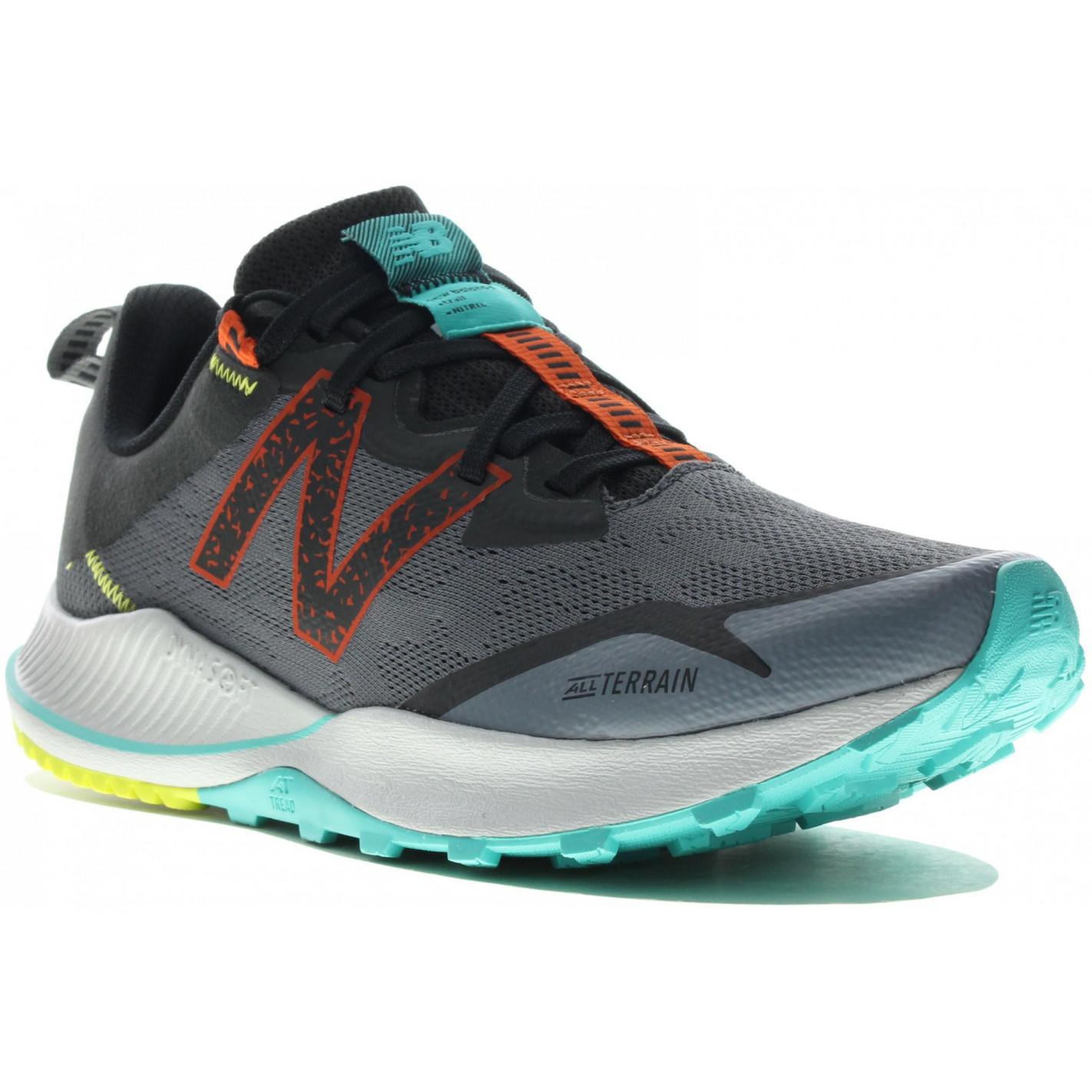 Chaussures Running NEW BALANCE Homme NITREL G4 Gris /Orange AH ...