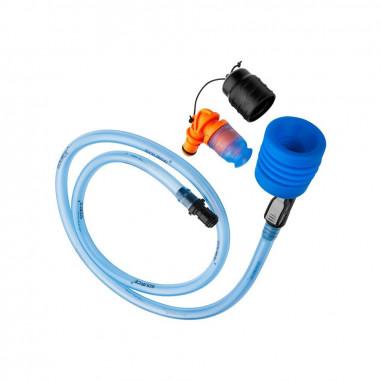 Lepeuxi 2 PCS Hydratation Vessie Tube Hydratation Pack Tuyau De Remplacement Hydratation Pack Tube Clip Syst/ème Dhydratation Kit