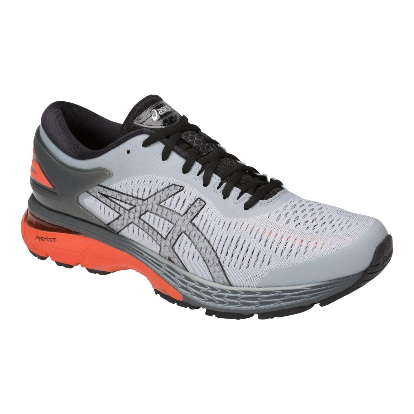 Chaussures Running ASICS Homme GEL-KAYANO 25 Grise / Orange AH ...